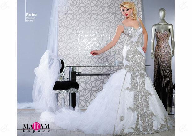espace maram robe de mariage bou mhel el bassatine zifef. Black Bedroom Furniture Sets. Home Design Ideas