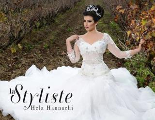 La Styliste Hela Hannachi , Robe de Mariage