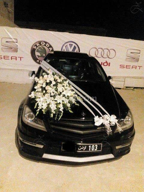 Voiture de Prestige Mariage : Mercedes classe C AMG : Voiture de ...