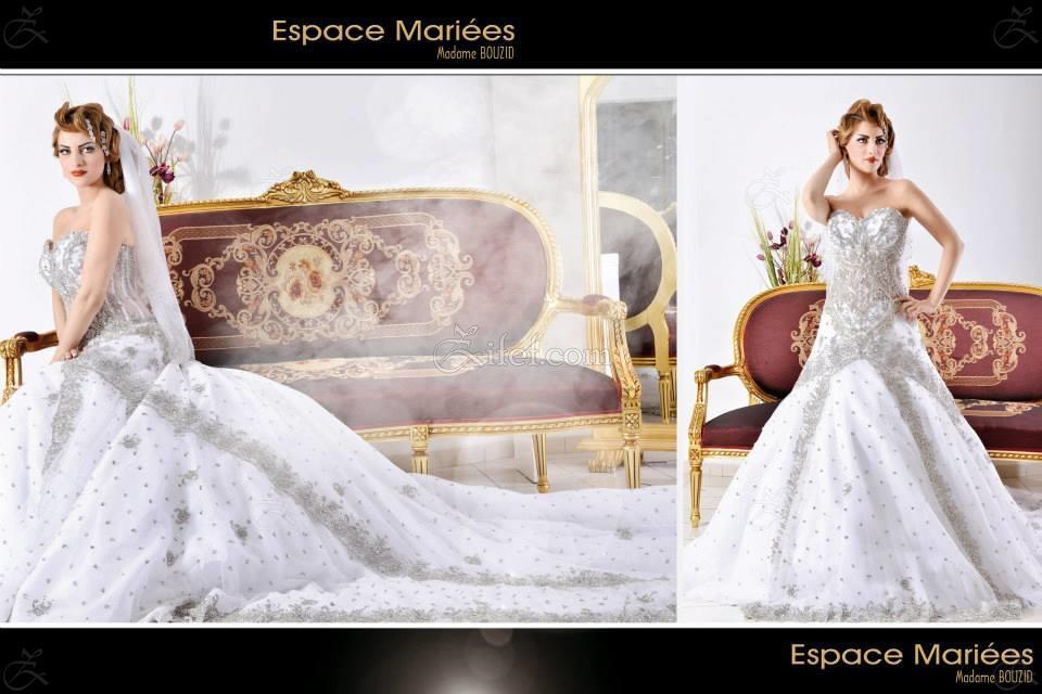 espace mari es madame bouzid robe de mariage ariana ville zifef. Black Bedroom Furniture Sets. Home Design Ideas