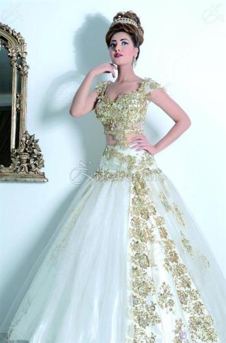 Très Narjes Haute Couture : Robe de Mariage - La Marsa - Zifef JY73