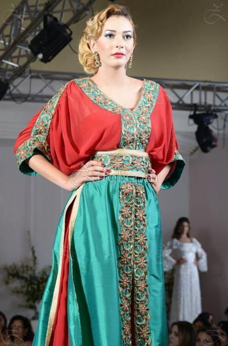 Robe de soiree de la haute couture