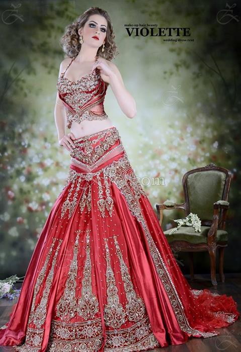 Robe de Mariage : Violette : Robe de Mariage - El Omrane - Zifef ...