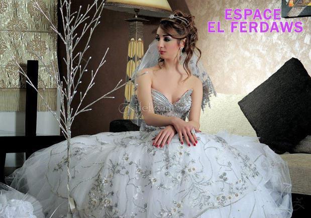 espace el ferdaws robe de mariage sousse riadh zifef. Black Bedroom Furniture Sets. Home Design Ideas